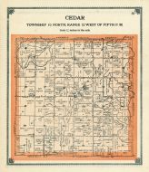 Cedar Township, Greene County 1909