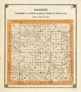 Dawson Township, Greene County 1909