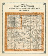 Grant and Jeffershon Townships, Greene County 1909