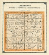 Greenbrier Township, Greene County 1909