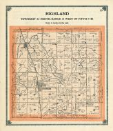 Highland Township, Greene County 1909