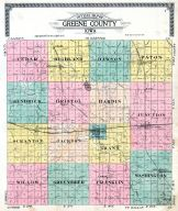 County Outline, Greene County 1917