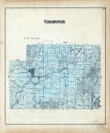 Calhoun Townships, Willow River, Harrison County 1884