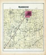 Harrison Township, Dunlap, MIll Creek, York, Picayune Creek, Weimer Grove, Harrison County 1884