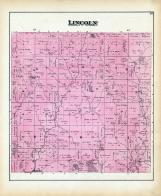 Lincoln Township, Olympus P.O., Willow River, Harrison County 1884