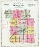Ida County Topographical Map, Ida County 1906