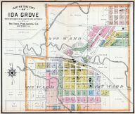 Ida Grove City, Ida County 1906