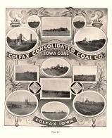 Colfax Consolidated Coal Co., Shaft Mine, Iowa State Atlas 1904