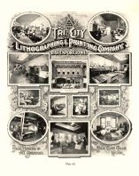 Tri City Lithographing and Printing Company, Davenport, Iowa State Atlas 1904