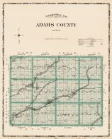 Adams County, Iowa State Atlas 1904