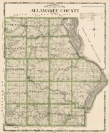 Allamakee County, Iowa State Atlas 1904