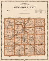 Appanoose County Iowa State Atlas 1904 Iowa  map online