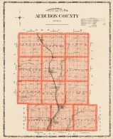 Audubon County, Iowa State Atlas 1904