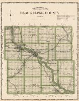 Black Hawk County, Iowa State Atlas 1904