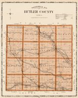 Butler County, Iowa State Atlas 1904