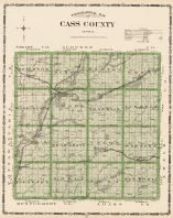 Cass County, Iowa State Atlas 1904
