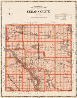 Cedar County, Iowa State Atlas 1904