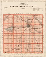 Cherro Gordo County, Iowa State Atlas 1904