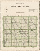 Chickasaw County, Iowa State Atlas 1904