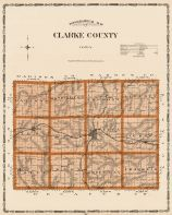 Clarke County, Iowa State Atlas 1904