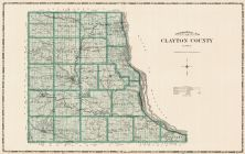 Clayton County, Iowa State Atlas 1904