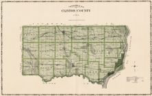 Clinton County, Iowa State Atlas 1904