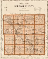 Delaware County, Iowa State Atlas 1904