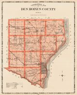 Des Moines County, Iowa State Atlas 1904
