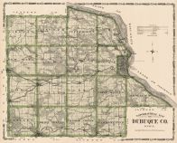 Dubuque County, Iowa State Atlas 1904