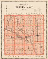 Greene County, Iowa State Atlas 1904