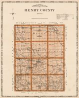 Henry County, Iowa State Atlas 1904