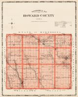 Howard County, Iowa State Atlas 1904