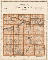 Iowa County, Iowa State Atlas 1904