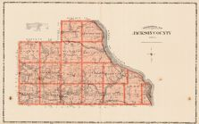 Jackson County, Iowa State Atlas 1904