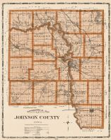 Johnson County, Iowa State Atlas 1904