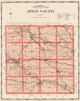 Jones County, Iowa State Atlas 1904