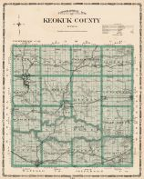 Keokuk County, Iowa State Atlas 1904