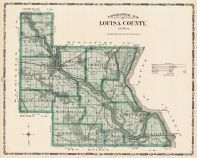 Louisa County, Iowa State Atlas 1904