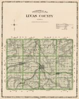 Lucas County, Iowa State Atlas 1904