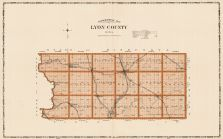 Lyon County, Iowa State Atlas 1904