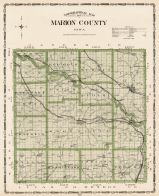 Marion County, Iowa State Atlas 1904