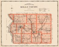 Mills County, Iowa State Atlas 1904