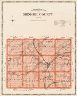 Monroe County, Iowa State Atlas 1904
