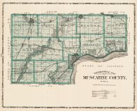 Muscatine County, Iowa State Atlas 1904