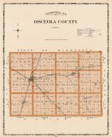 Osceola County, Iowa State Atlas 1904