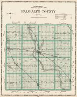 Palo Alto County, Iowa State Atlas 1904