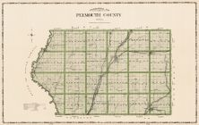 Plymouth County, Iowa State Atlas 1904