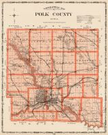 Polk County, Iowa State Atlas 1904
