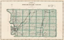 Pottawattamie County, Iowa State Atlas 1904