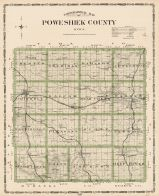 Poweshiek County, Iowa State Atlas 1904